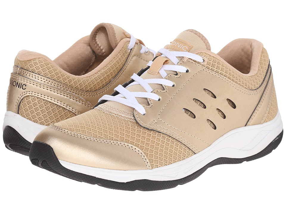 VIONIC - Venture Active Lace-Up (Gold) Women's Lace up casual Shoes