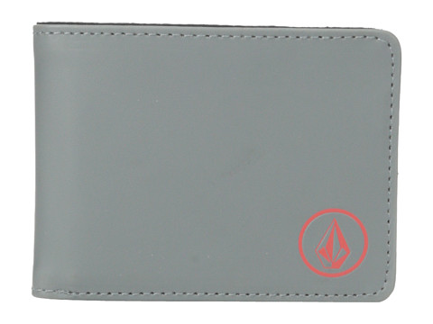 Volcom - Corps Wallet (Dark Grey) Bill-fold Wallet