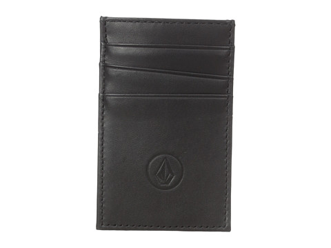 Volcom - Carded Wallet (Black) Wallet Handbags