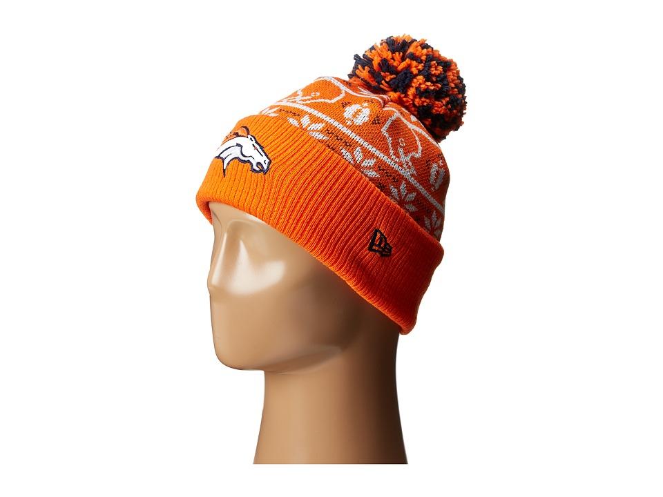 New Era - Sweater Chill Denver Broncos (Orange) Caps
