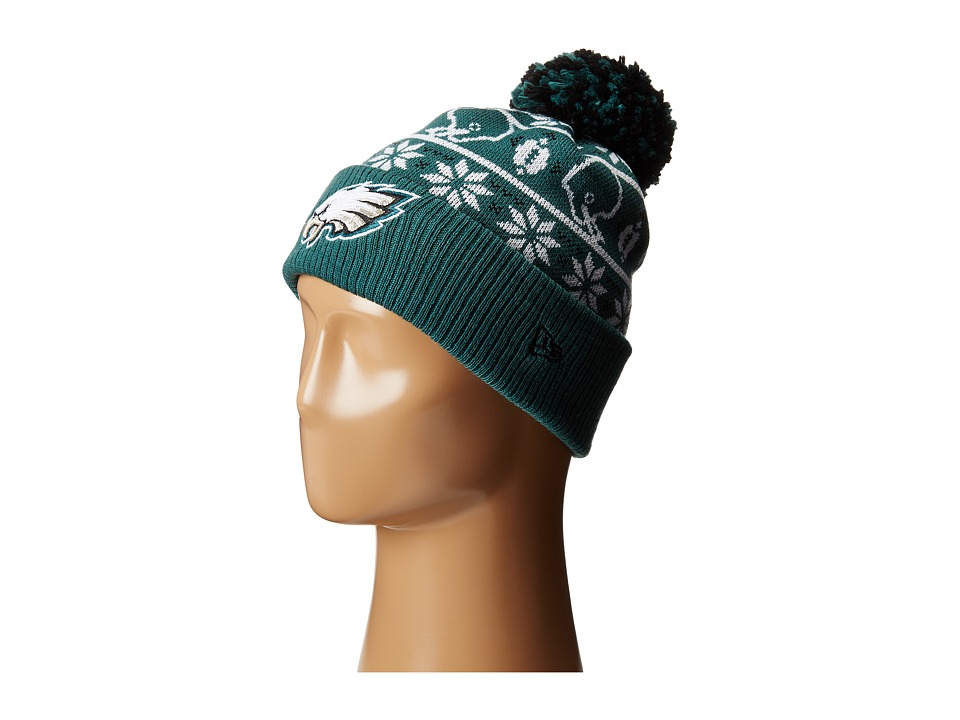 New Era - Sweater Chill Philidelphia Eagles (Dark Green) Caps