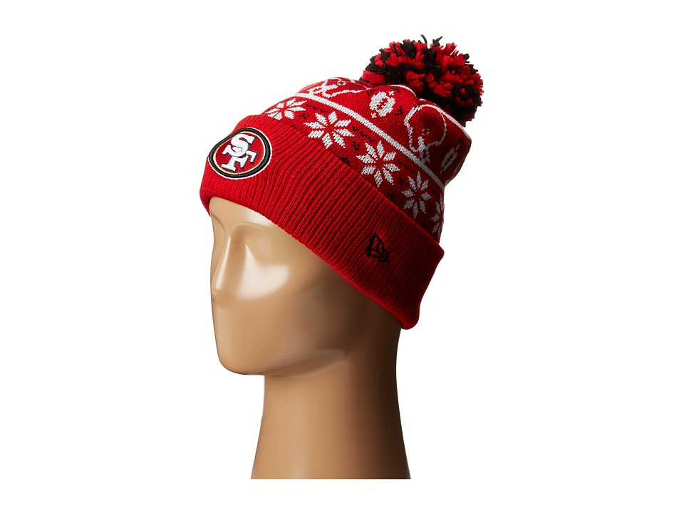 New Era - Sweater Chill San Francisco 49ers (Red) Caps