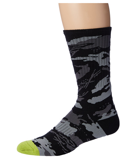 Volcom - Threaded Socks (Lime) Men's Crew Cut Socks Shoes