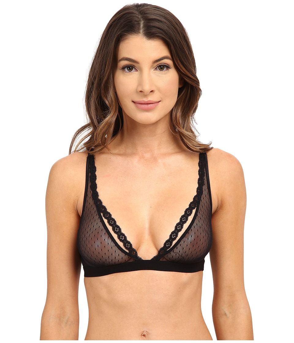Cosabella - Bisou Tall Triangle Bralet BISOU1304 (Black) Women's Bra