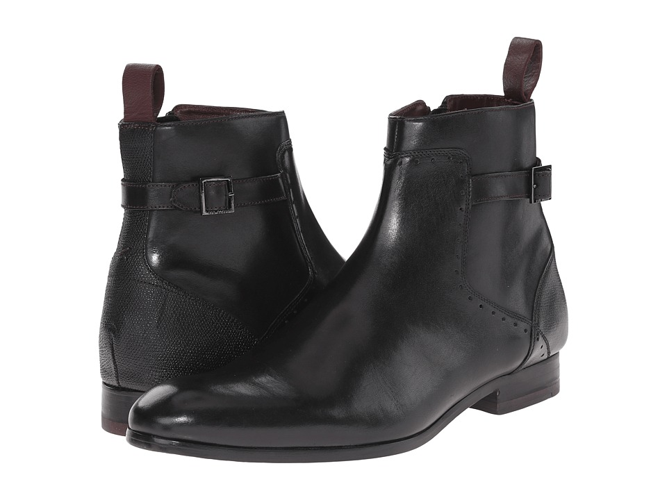 Ted Baker - Nayfer (Black Leather) Men