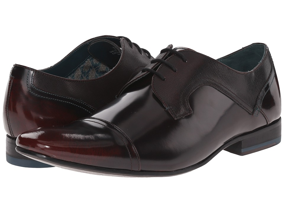 Ted Baker Jorett (Dark Red High Shine) Men