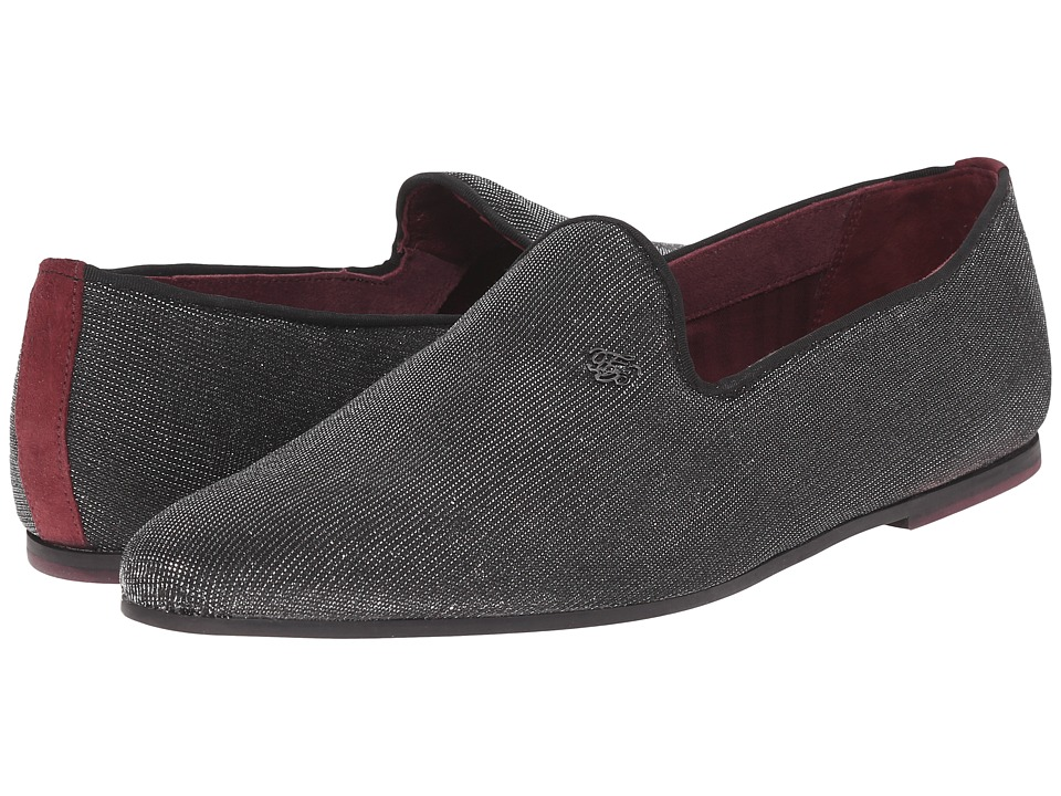 Ted Baker - Vraby (Black Textile) Men's Slip on Shoes