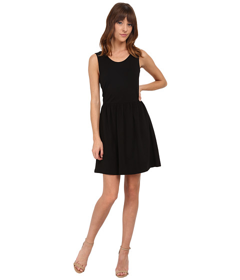ONLY - Niella Sleeveless Lace Dress (Black) Women