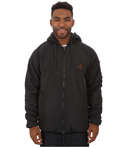 Billabong - Eureka Reversible Jacket (Stealth) Men's Coat