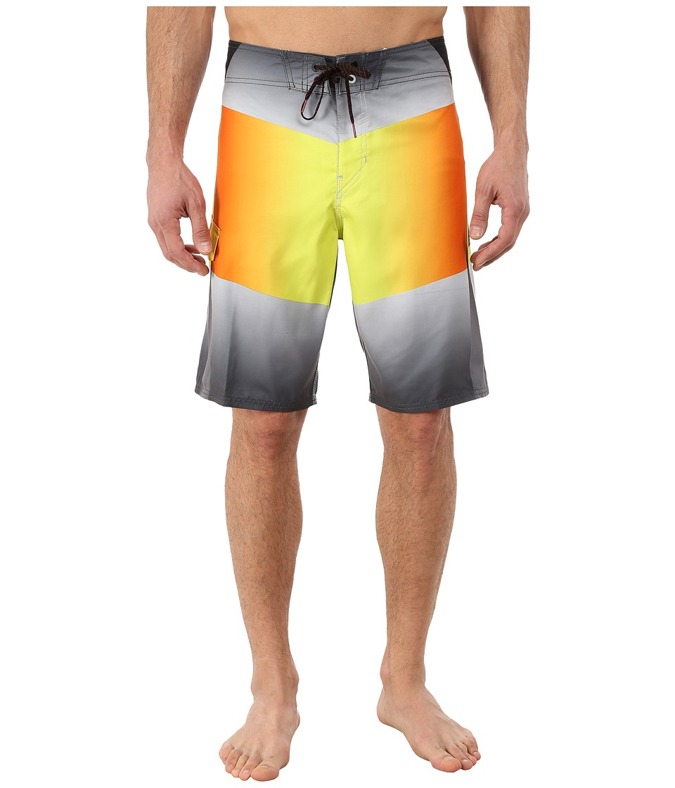 Billabong - Fluid Boardshorts (Orange) Men's Swimwear