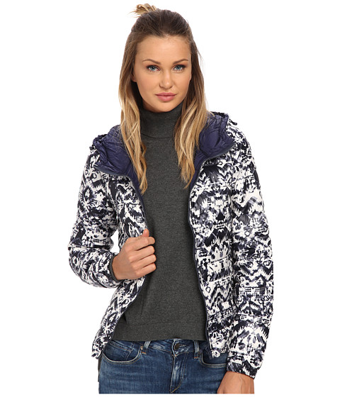 ONLY - Tahoe Hooded Jacket (Peacoat) Women's Coat