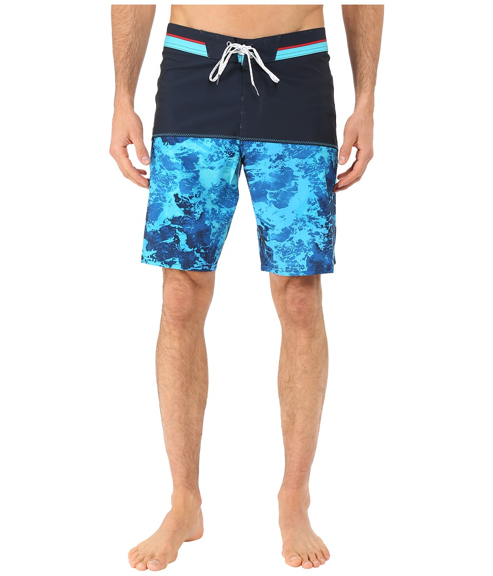 Billabong - Shifty Wash 19 Boardshorts (Indigo) Men's Swimwear