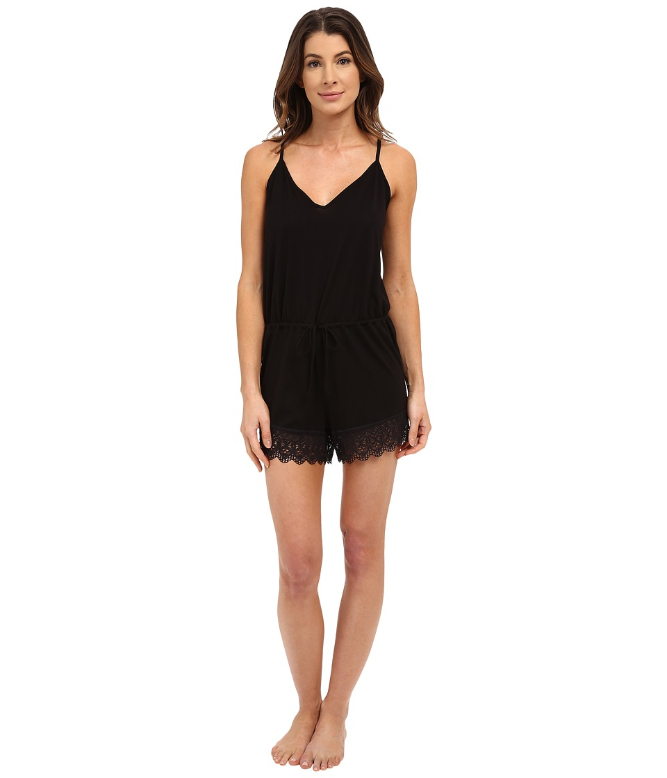 Cosabella - Edith Romper (Black) Women's Jumpsuit & Rompers One Piece