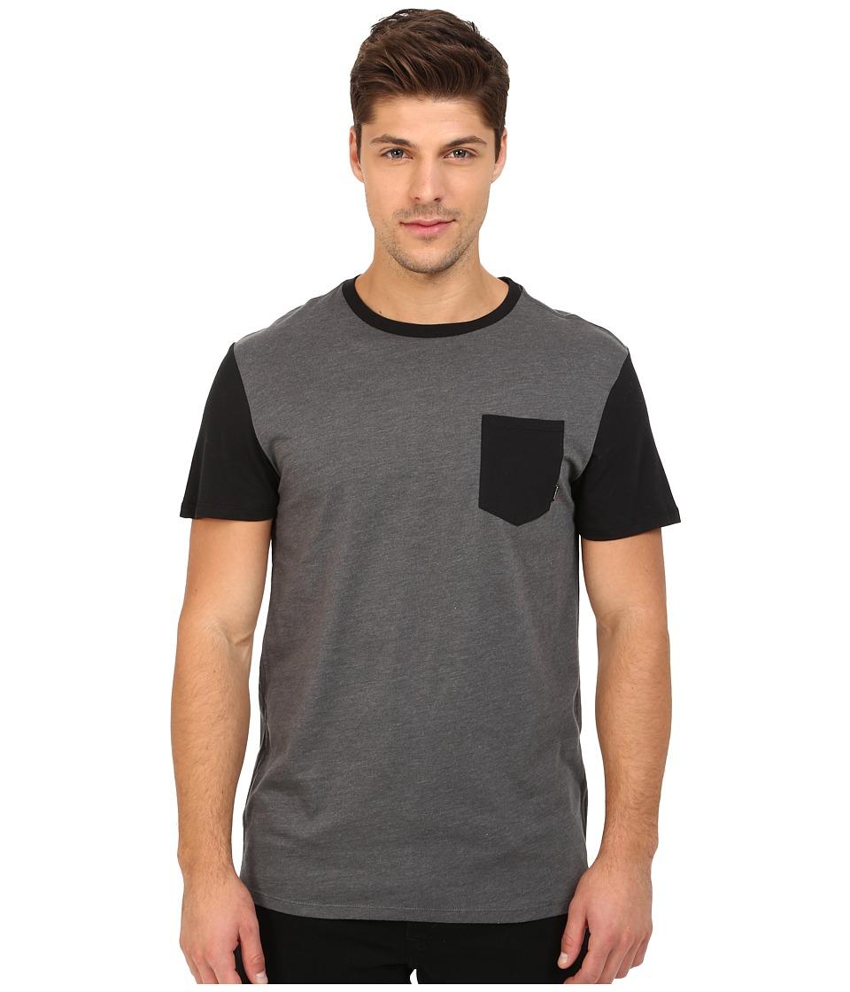 Billabong - Zenith Crew (Dark Grey Heather) Men's T Shirt