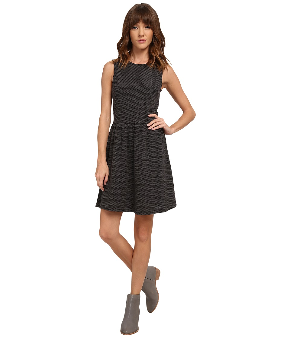 ONLY - Niella Sleeveless Diamond Dress (Dark Grey Melange) Women's Dress