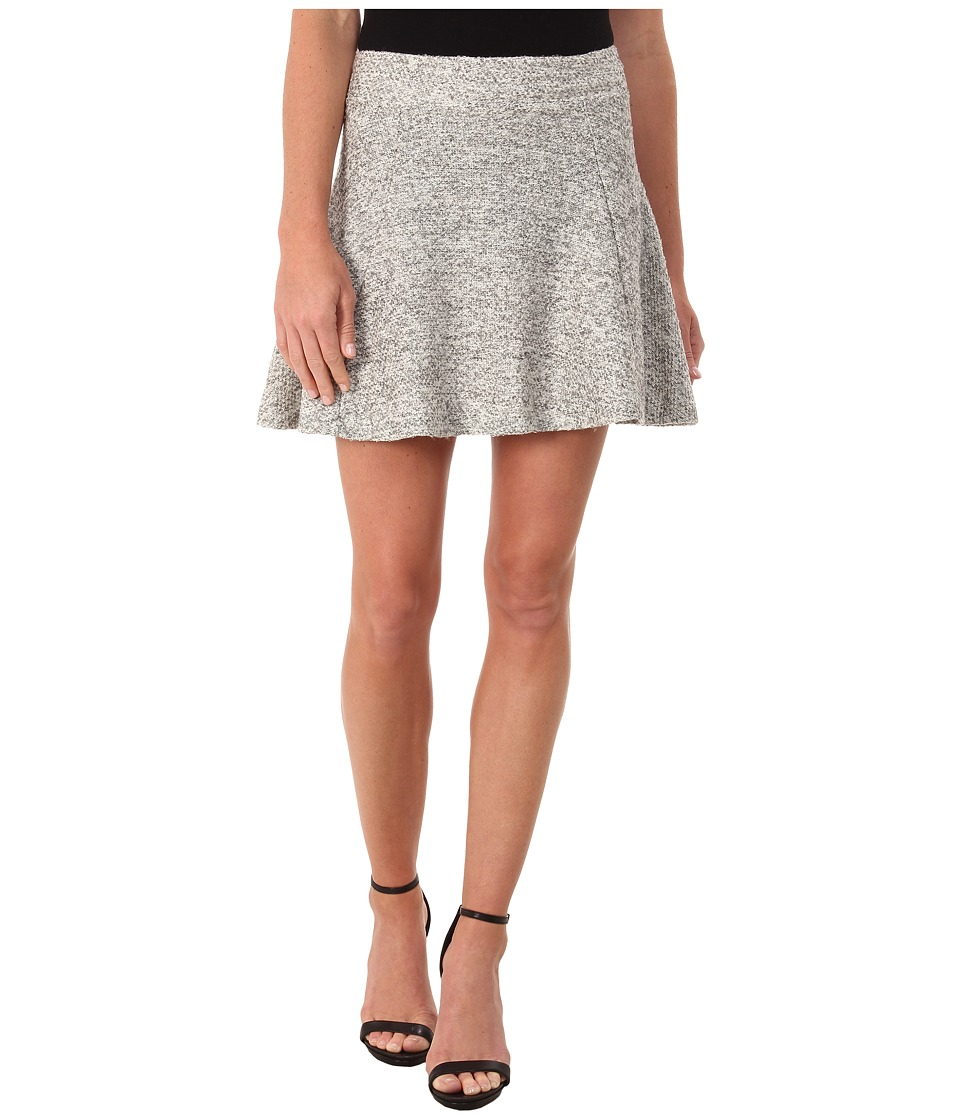 ONLY - Burcle Skater Skirt (Light Grey Melange) Women's Skirt