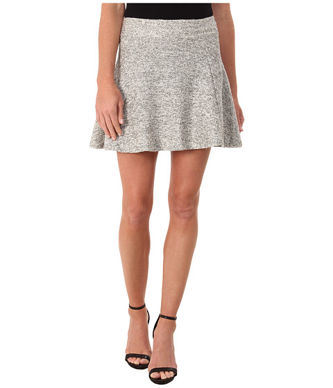ONLY - Burcle Skater Skirt (Light Grey Melange) Women
