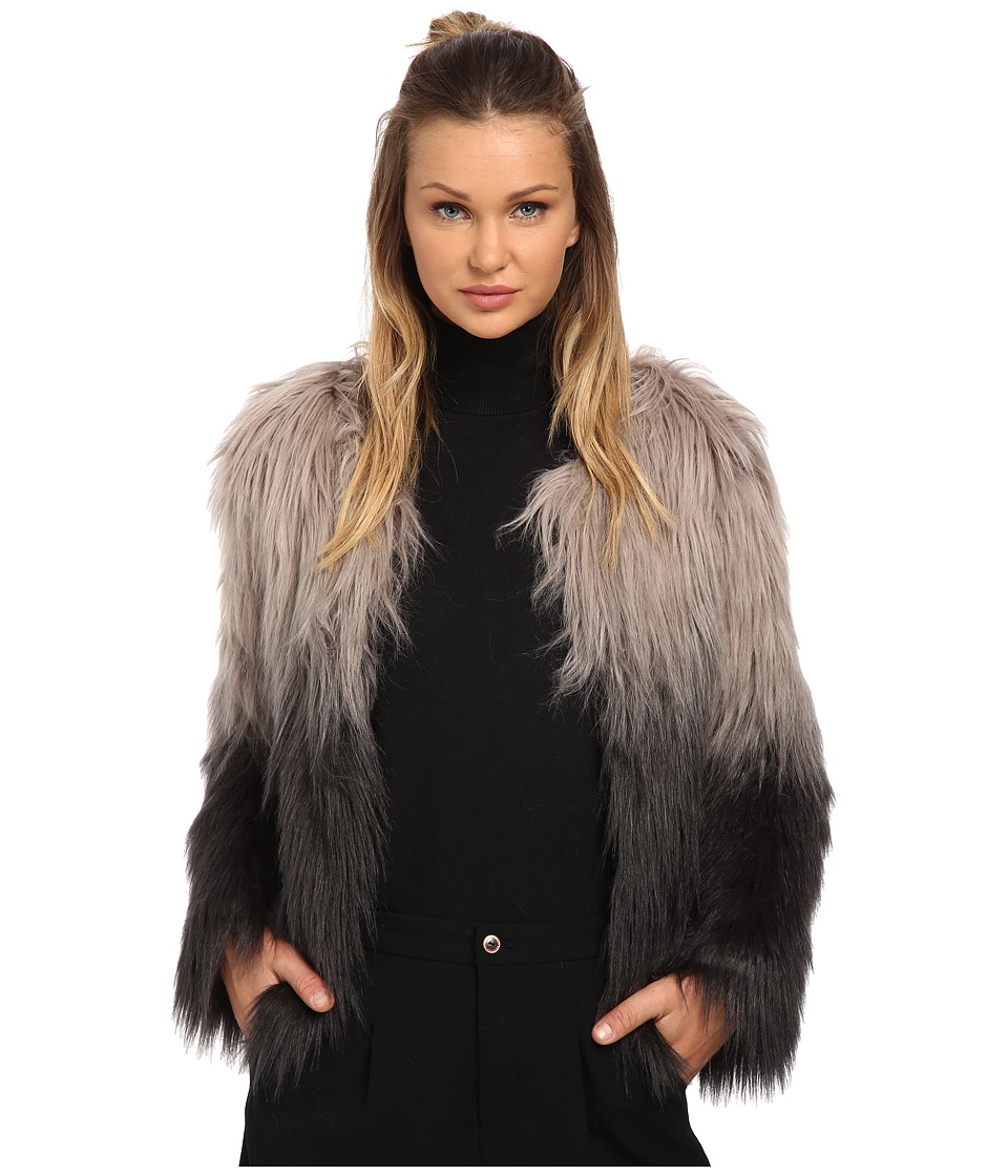 ONLY - The Favorite Faux Fur Coat (Rock Ridge) Women's Coat
