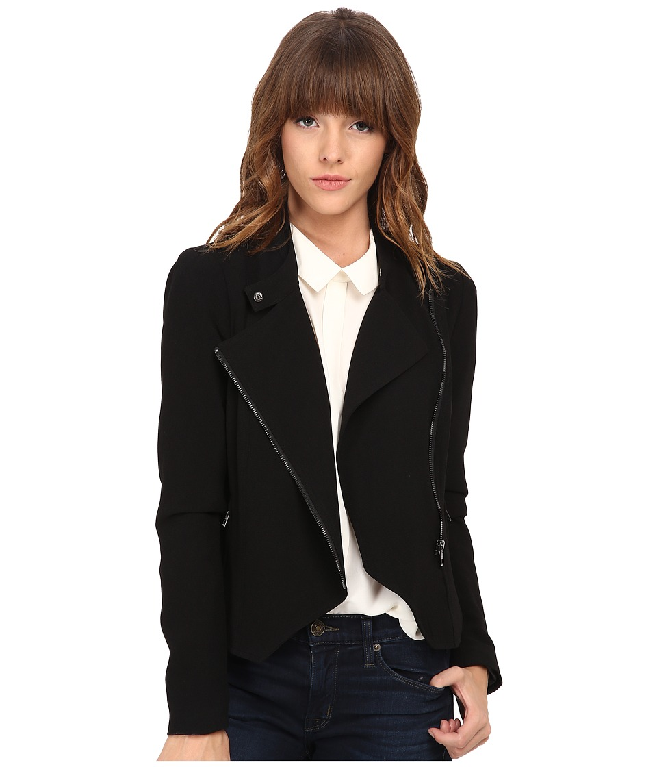 ONLY - Hunt Cropped Blazer Jacket (Black) Women's Jacket