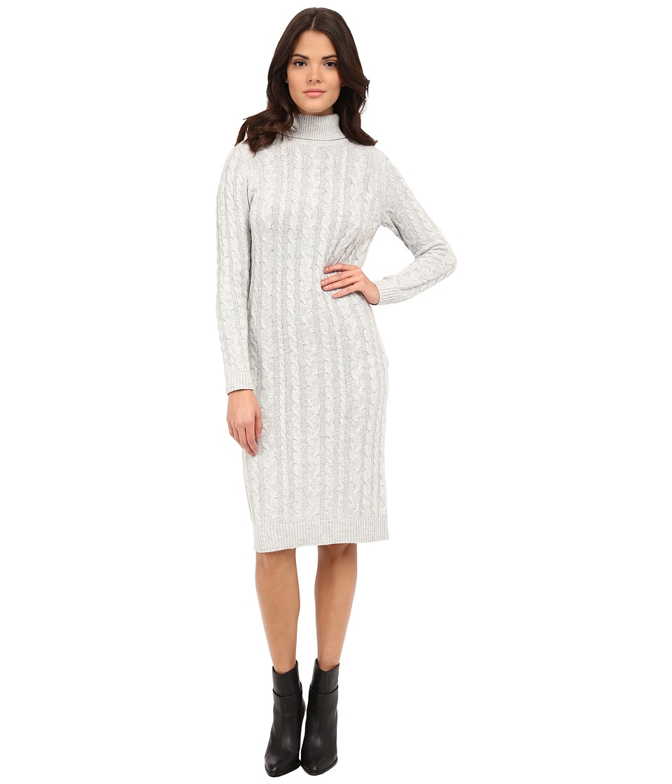 ONLY - Jasmina Long Sweater Dress (Light Grey Melange) Women's Dress