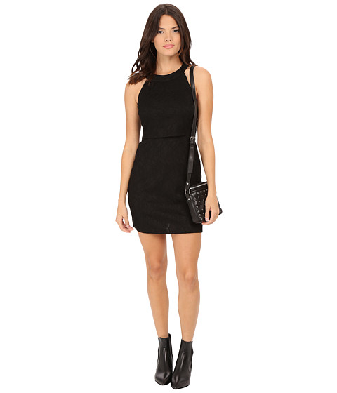 ONLY - Marva Lace Dress (Black) Women's Dress