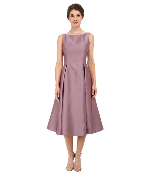 Adrianna Papell - Sleeveless Tea Length Dress (Dusty Rose) Women