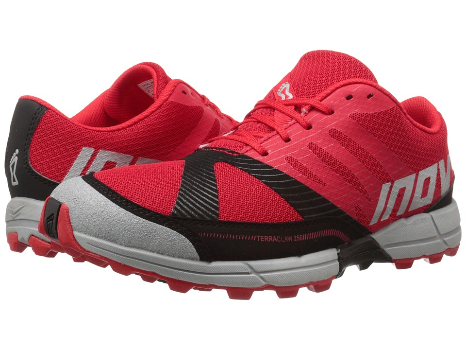 inov-8 - Terraclaw 250 (Red/Black/Grey) Men's Running Shoes