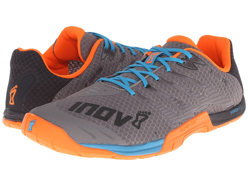 inov-8 - F-Lite 235 (Grey/Blue/Orange) Men's Running Shoes