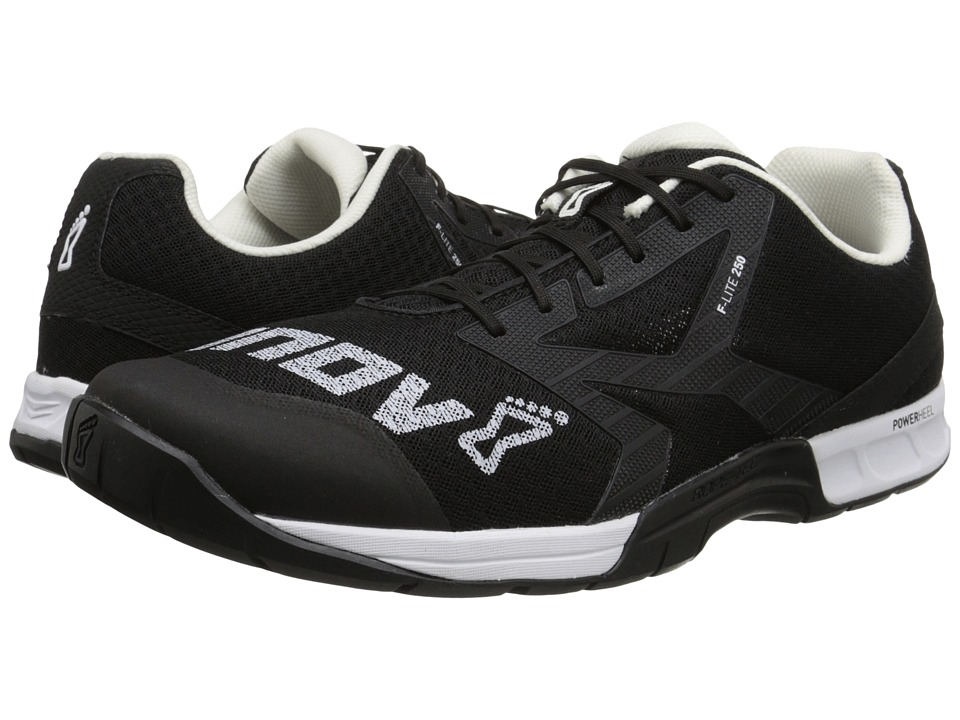 inov-8 - F-Lite 250 (Black/White) Men's Running Shoes