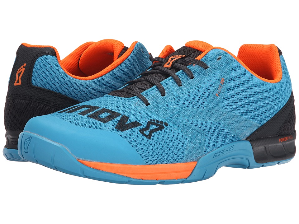 inov-8 - F-Lite 250 (Blue/Grey/Orange) Men's Running Shoes