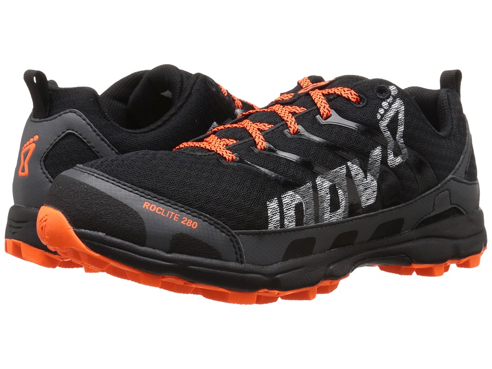 inov-8 - Roclite 280 (Black/Orange) Men's Running Shoes