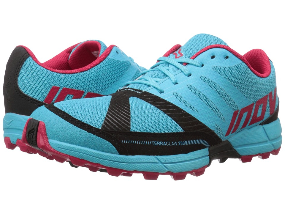 inov-8 - Terraclaw 250 (Blue/Berry/Black) Women's Running Shoes