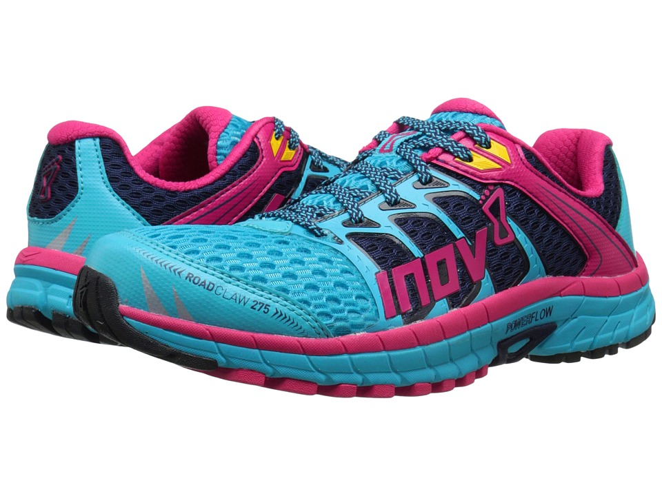 inov-8 - Road Claw 275 (Blue/Navy/Berry) Women's Running Shoes