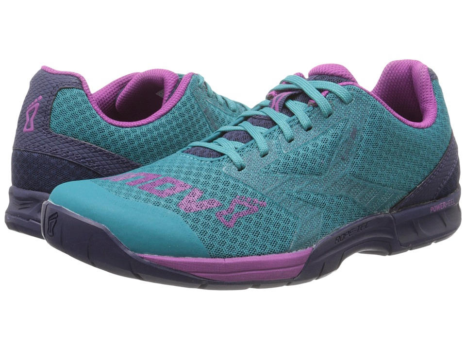inov-8 F-Lite 250 (Teal/Navy/Purple) Women