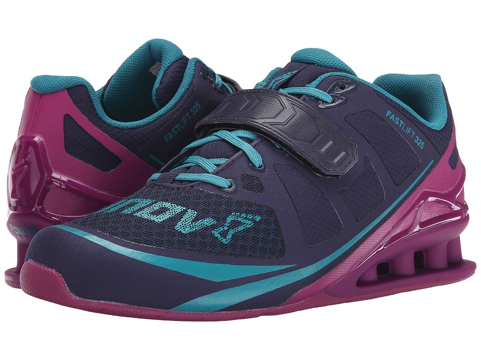 inov-8 - FastLift 325 (Navy/Purple/Teal) Women's Running Shoes