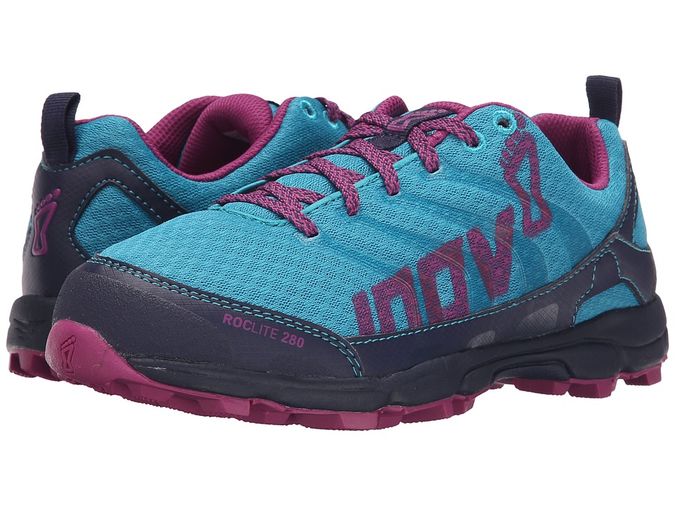inov-8 - Roclite 280 (Teal/Navy/Purple) Women's Running Shoes