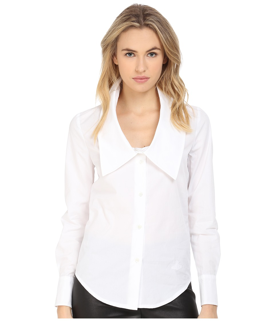 Vivienne Westwood - Dryad Shirt (Optical White) Women's Long Sleeve Button Up