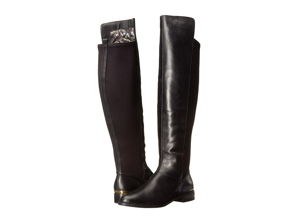 Ted Baker - Ryade (Black Leather) Women's Pull-on Boots