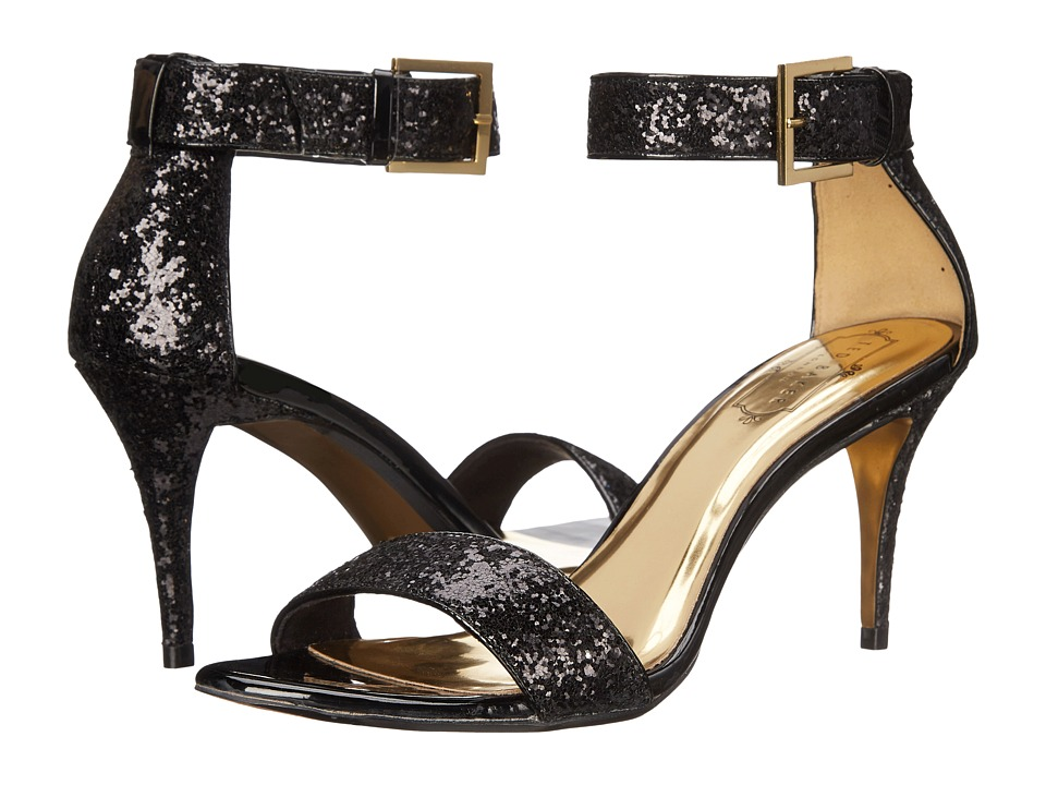 Ted Baker - Blynne (Black Glitter) Women's Sandals