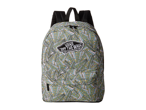 Vans - Realm Backpack (Abstract Black/White) Backpack Bags