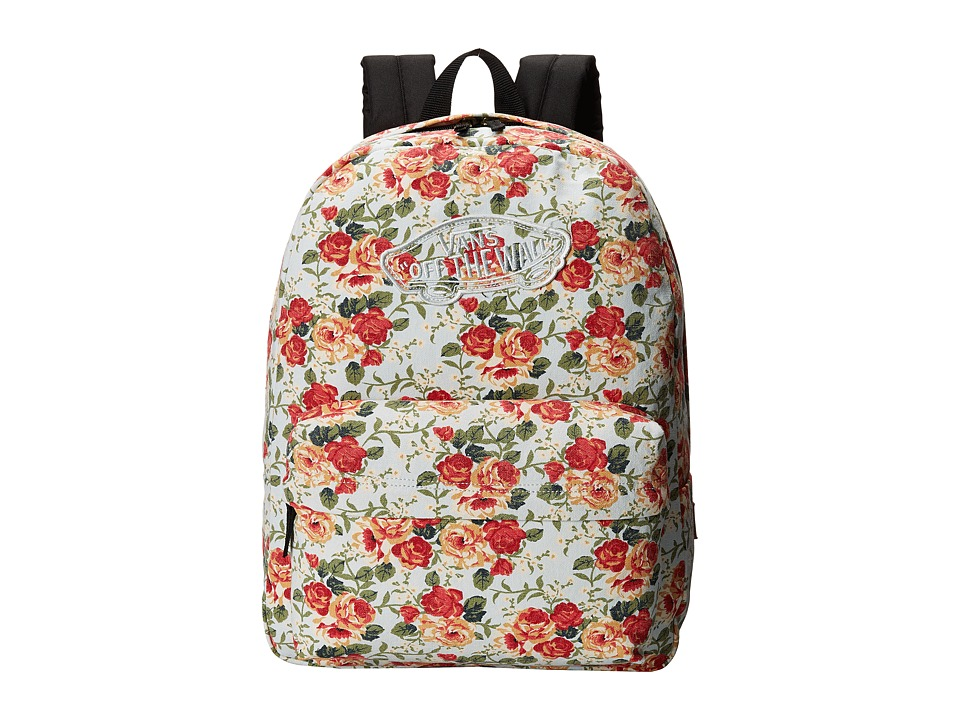 Vans - Realm Backpack ((Leila)Off White Floral) Backpack Bags
