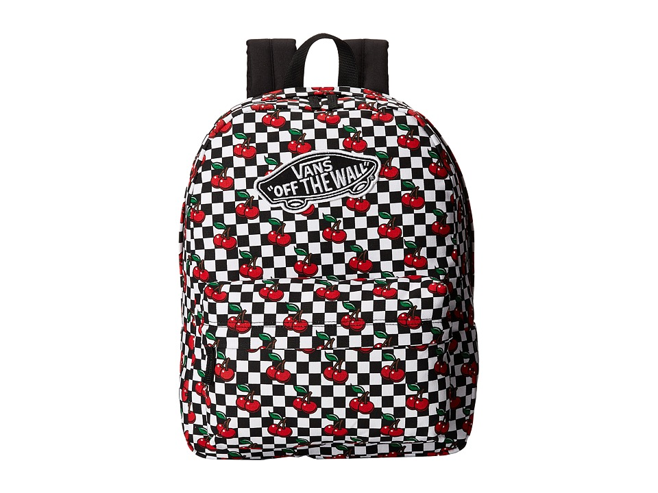 Vans - Realm Backpack (Cherry Checkers) Backpack Bags