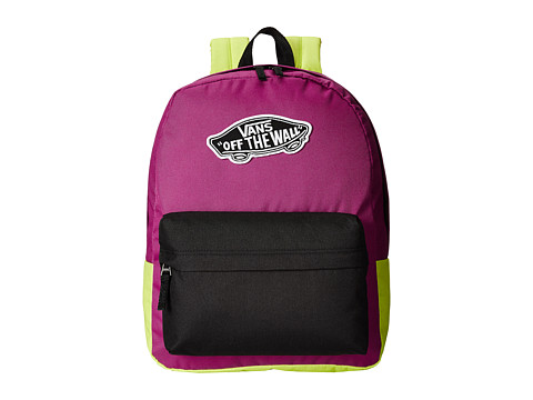Vans - Realm Backpack (Black/Deep) Backpack Bags