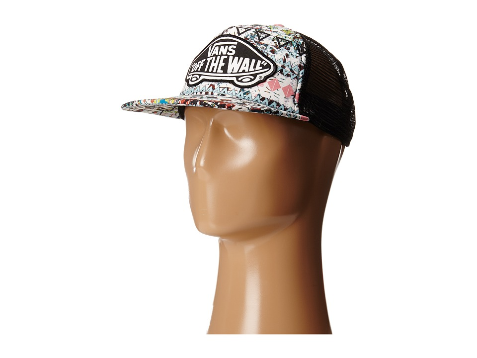 Vans - Beach Girl Trucker Hat (White Sand) Caps