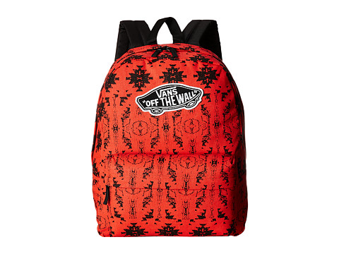 Vans - Realm Backpack (Flame Scarlet) Backpack Bags