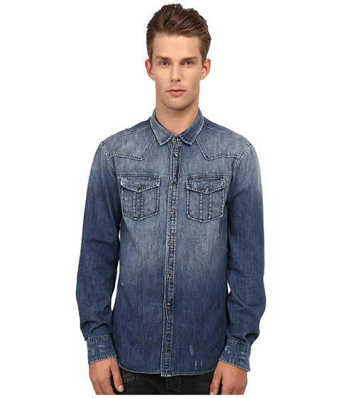 Pierre Balmain - Denim Shirt (Blue) Men