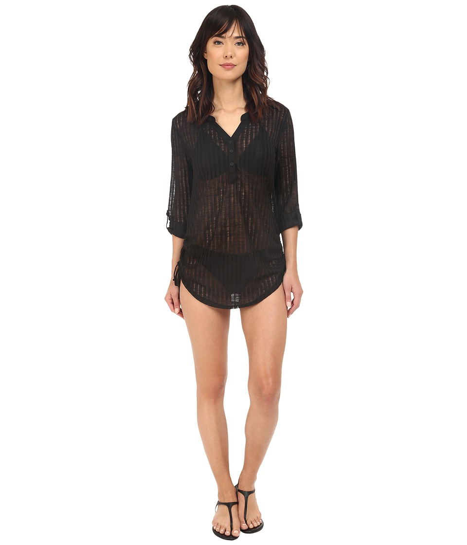 Billabong - Lovechild Cover-Up (Black) Women's Swimwear