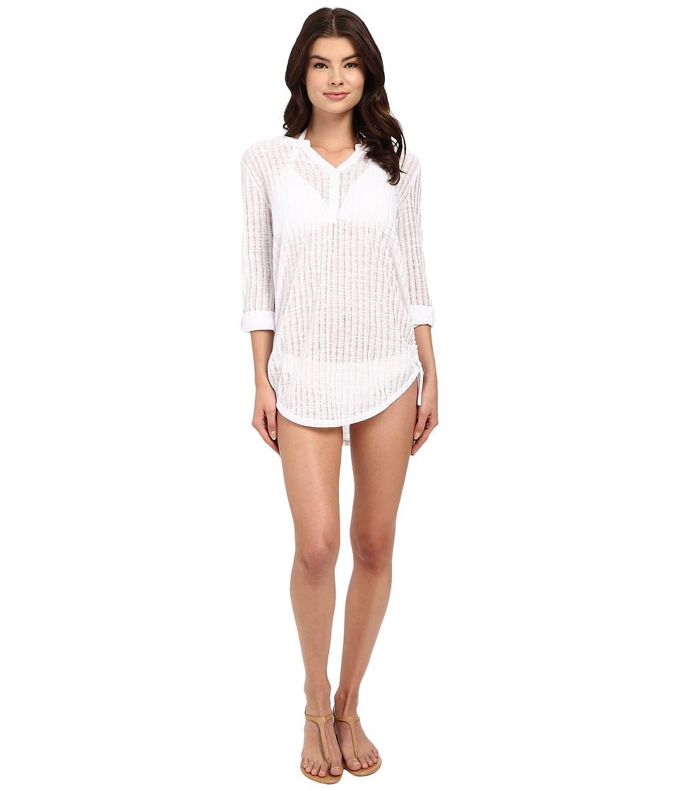 Billabong - Lovechild Cover-Up (White) Women's Swimwear