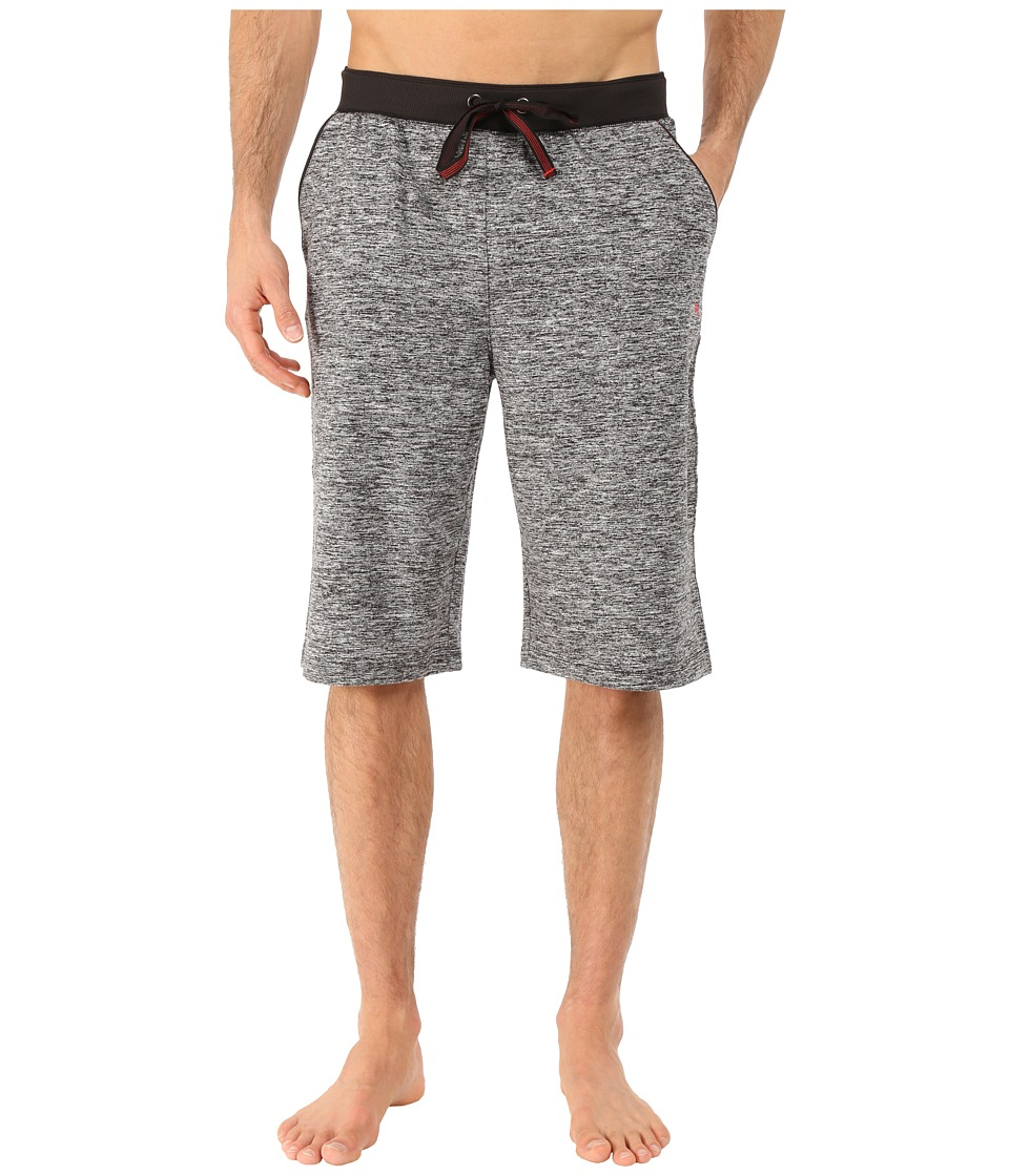 Tommy Bahama - Sueded Melange Jersey Jam (Black) Men's Pajama