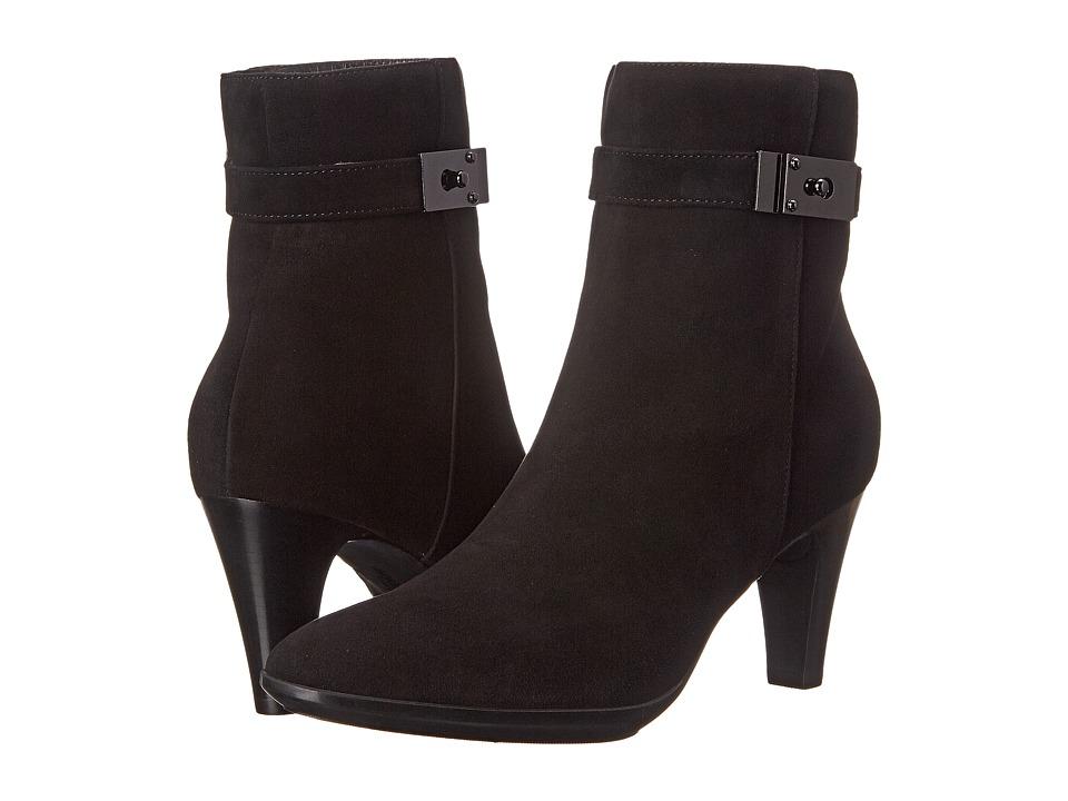 Aquatalia - Danele (Black Suede) Women's Boots